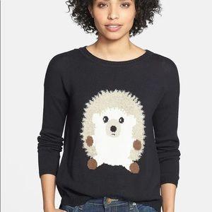 Eric + Lani Lightweight Hedgehog Intarsia Sweater